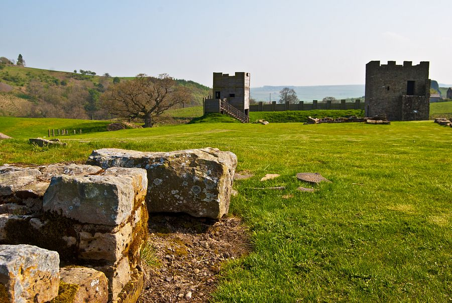 Pevnost Housesteads - Hadriánův val