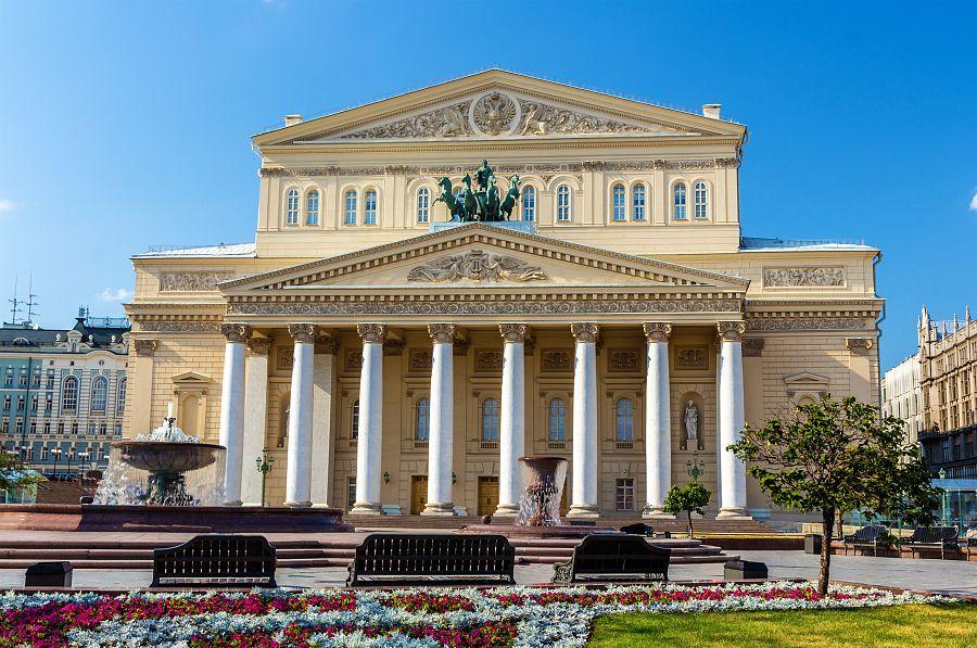 Moskva - Bolšoj těatr