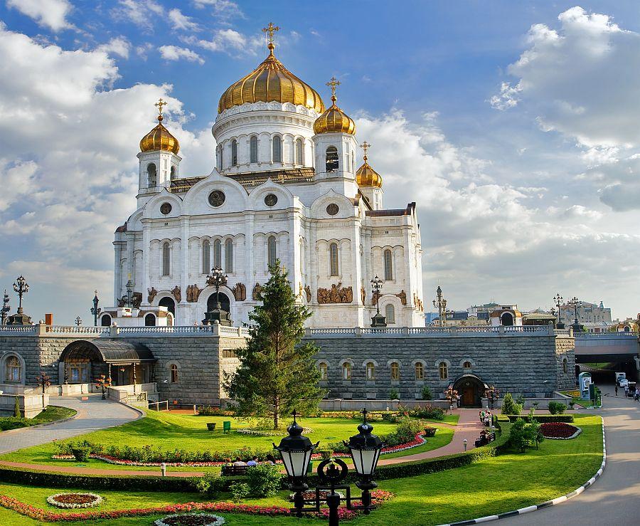 Moskva - katedrál Krista Spasitele