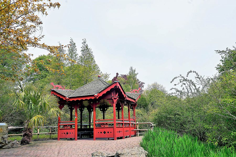 Edinburgh - Královská botanická zahrada