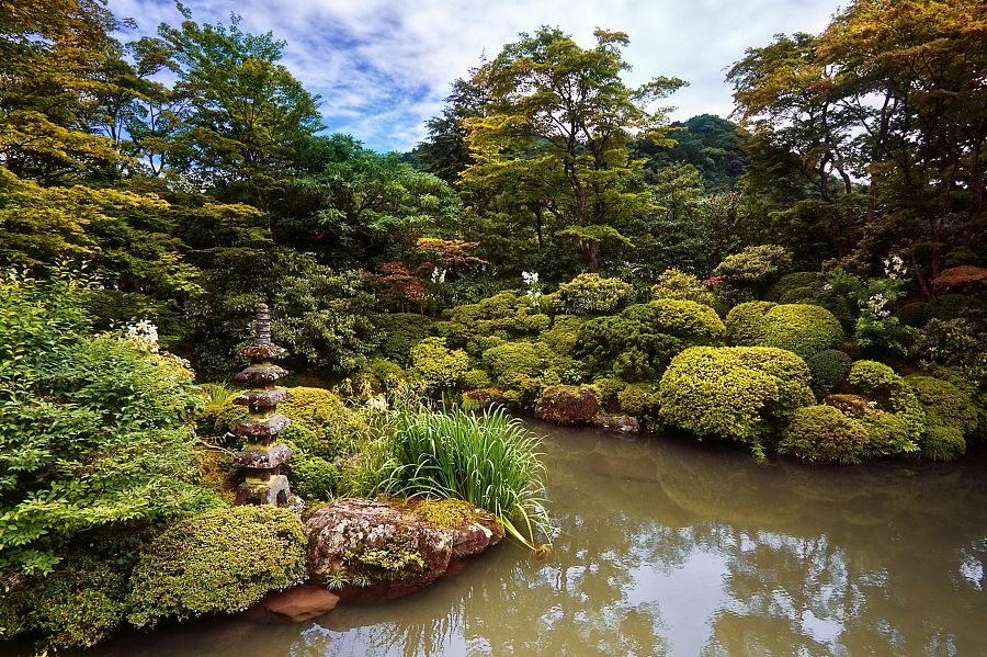 Nikkó - tradiční japonská zahrada
