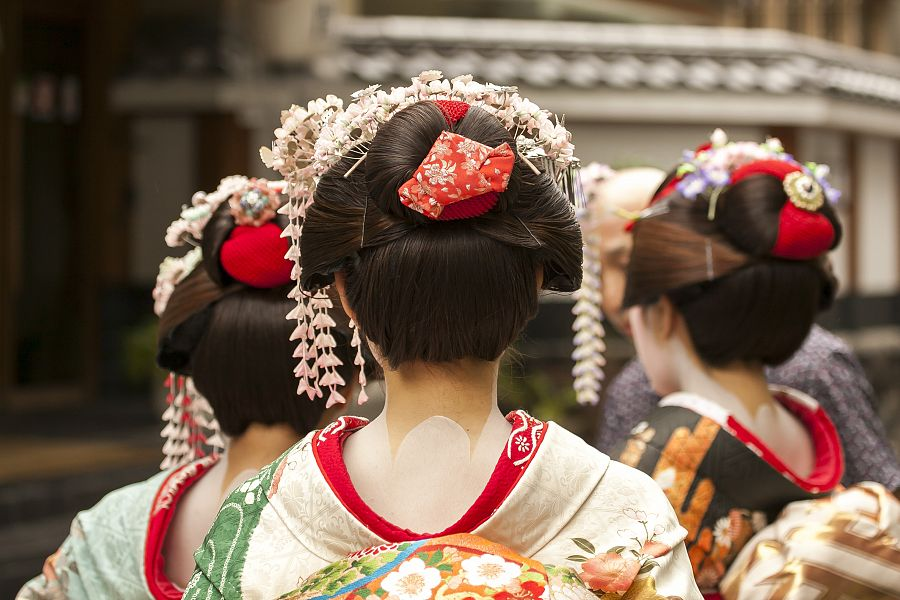 Kjóto - gejši