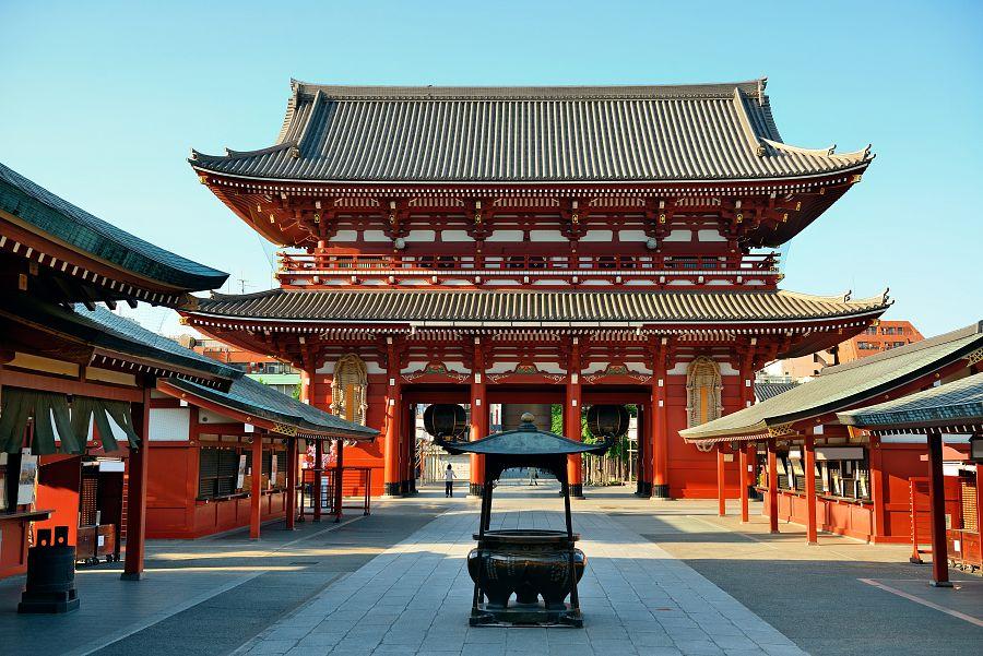Tokio - chrám Sensódži