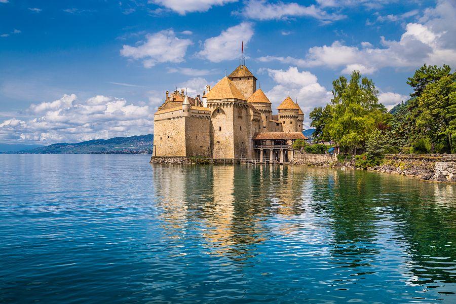 Chillon, Švýcarsko