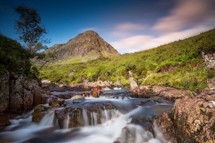 Scotland - údolí Glen Coe