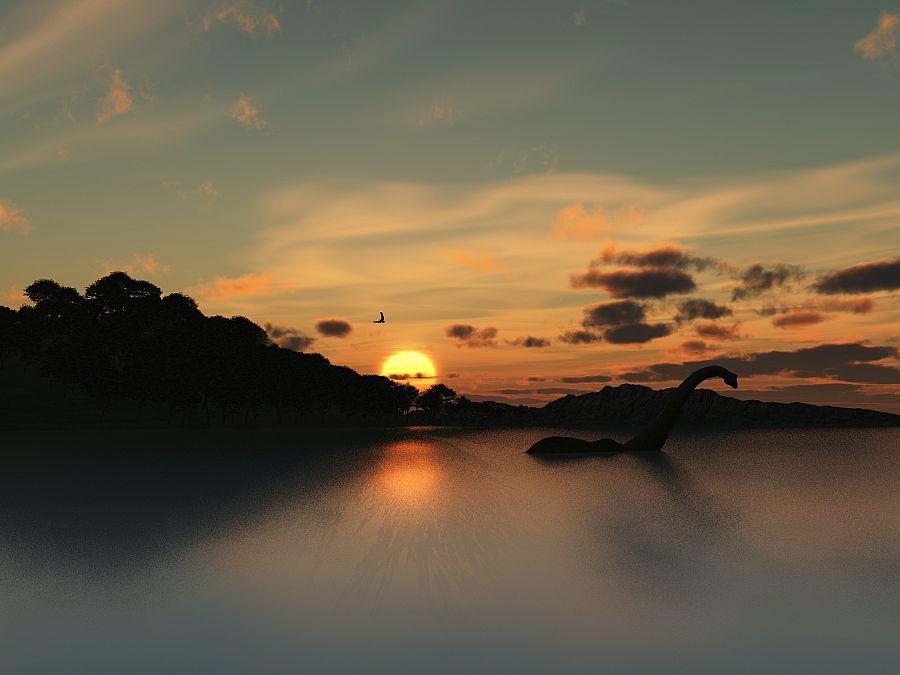 Skotsko - Loch Ness