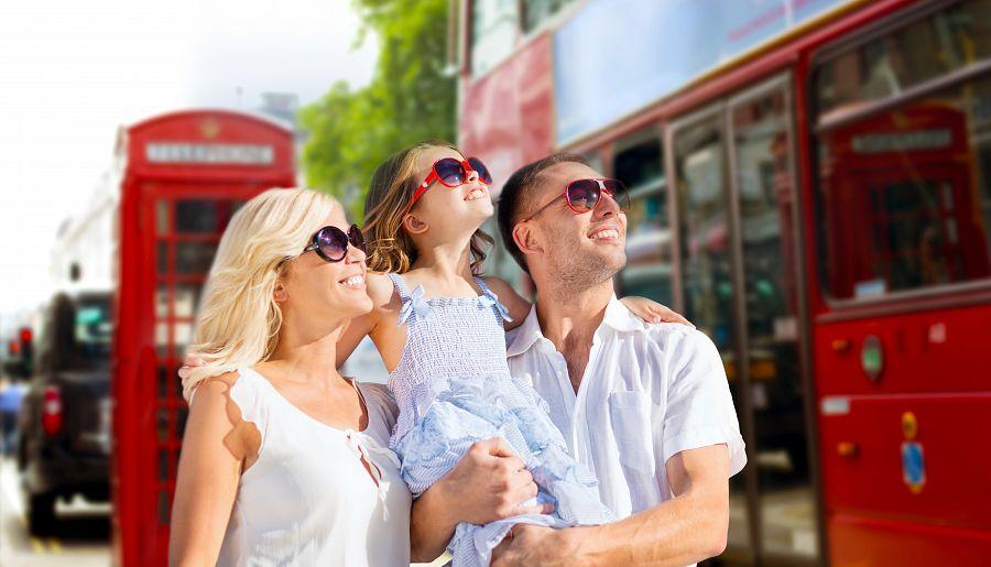 Rodina v Londýně