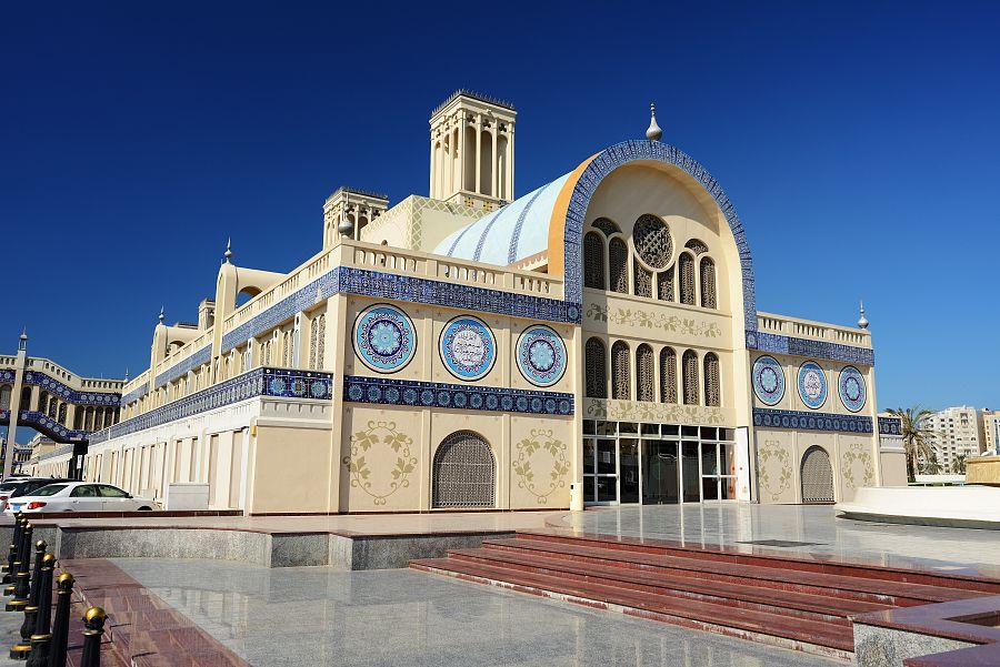 Modrý Souq v Sharjah