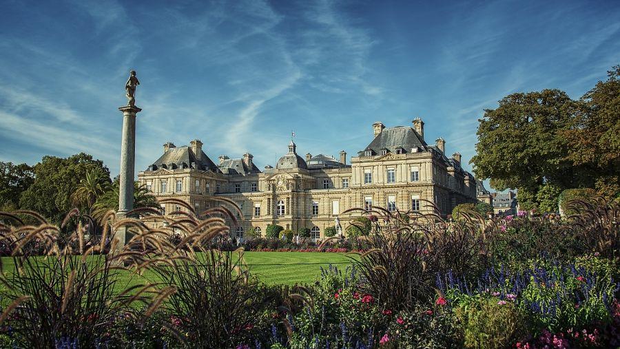 Lucemburské zahrady a palác
