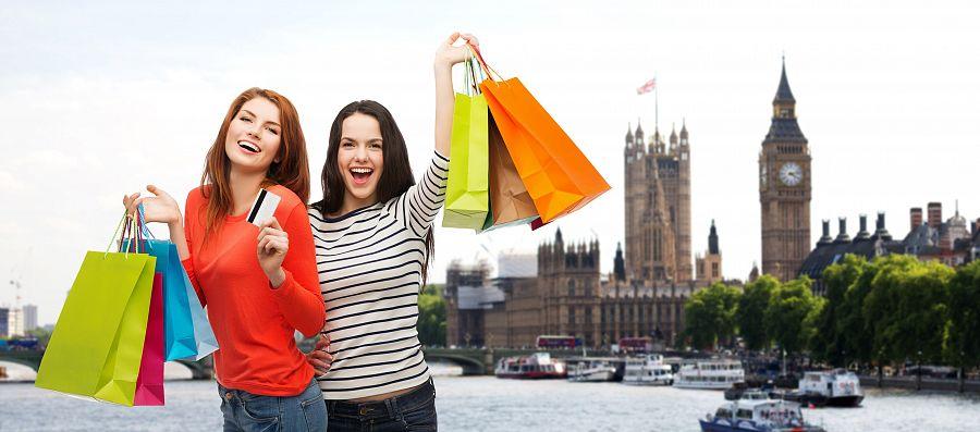 Nákupy v Londýně