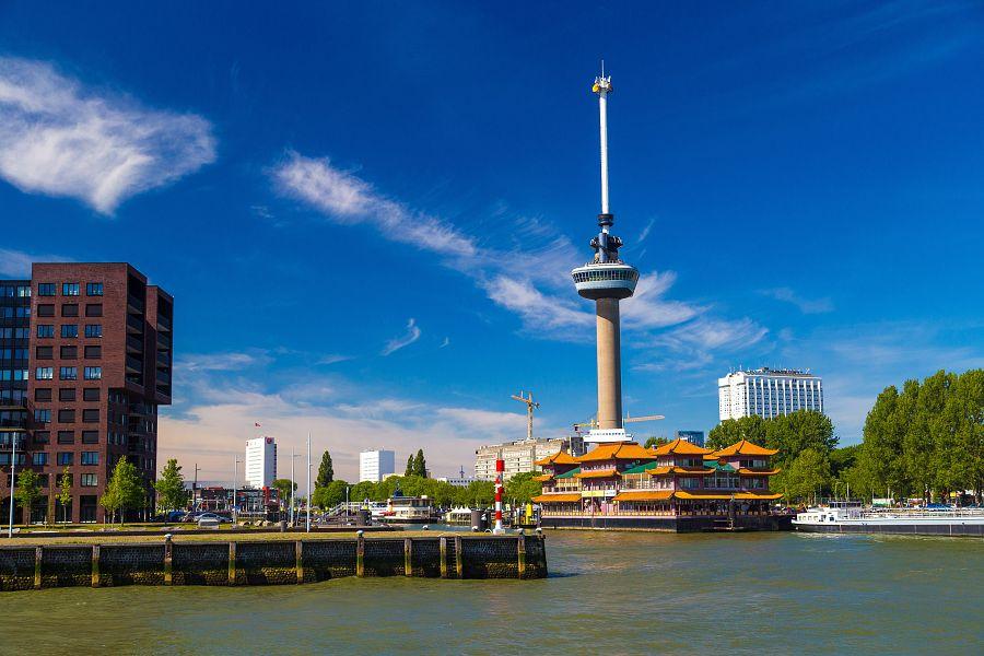 Holandsko - Rotterdam, Euromast