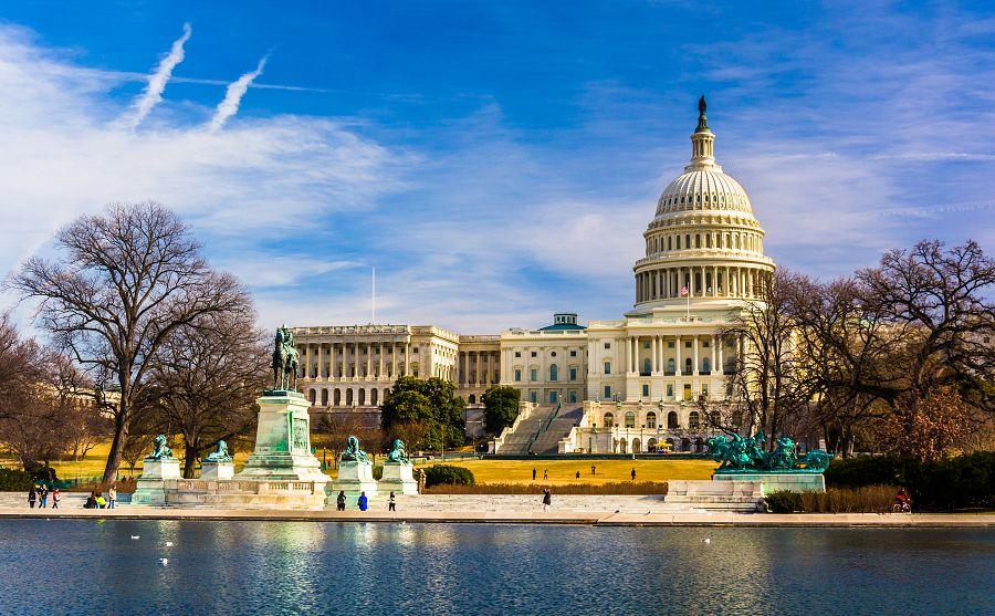 Kapitol ve Washingtonu D.C