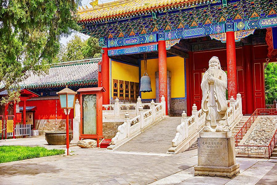 Peking - Konfuciův chrám