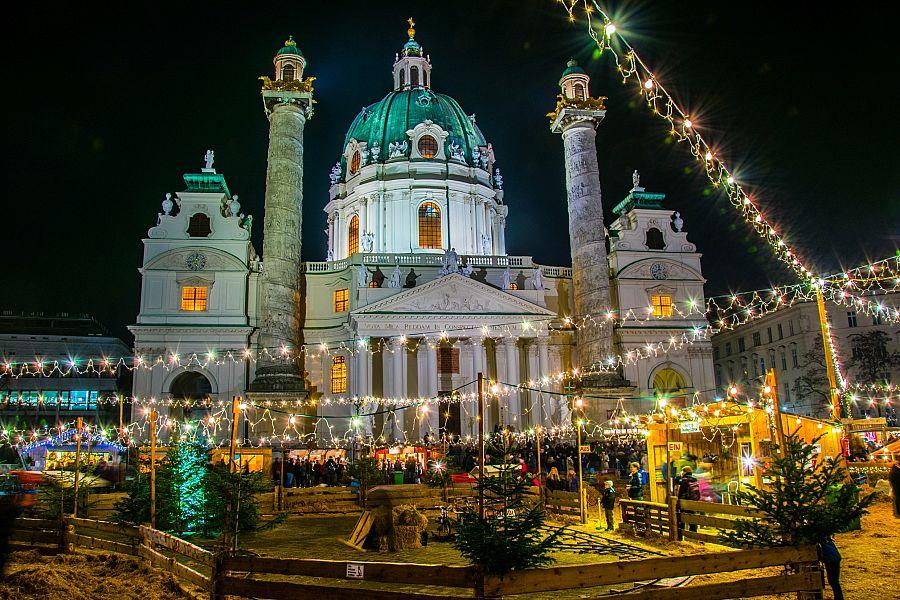 Adventní Vídeň + SALZBURG (autobusem z Ostravy)