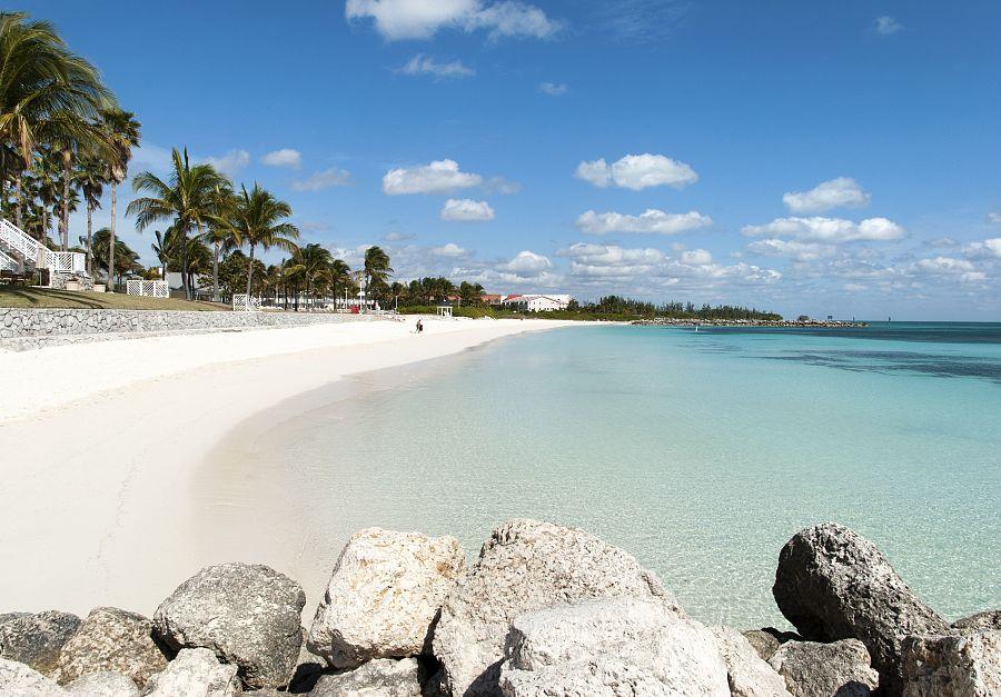 Pláže Bahamských ostrovů