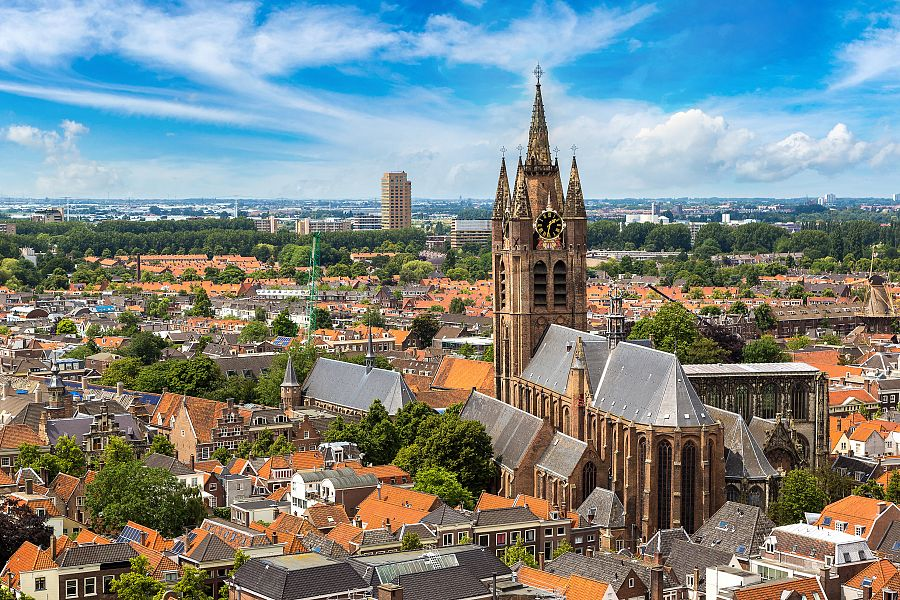Kostel Oude Kerk v Deftu