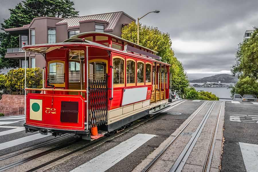 Famous Cable Car of San Francisco