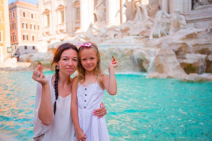 Řím pro rodiče a děti (letecky z Ostravy  Krakova)