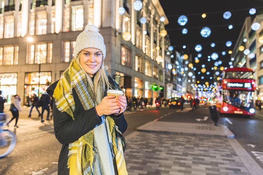 Nákupy Adventní Londýn