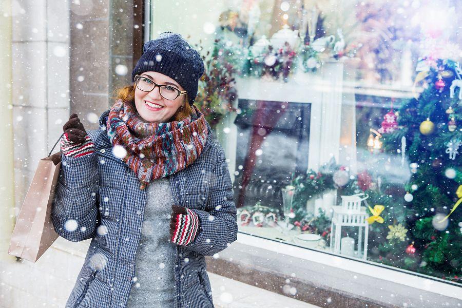 Vánoční nákupy v Londýně