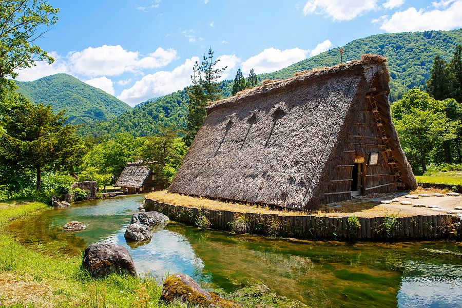 Japonsko_Shirakawa