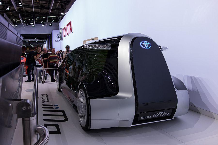 Autosalon Paříž Toyota