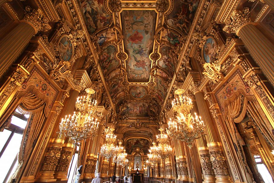 Opera Garnier interiéry