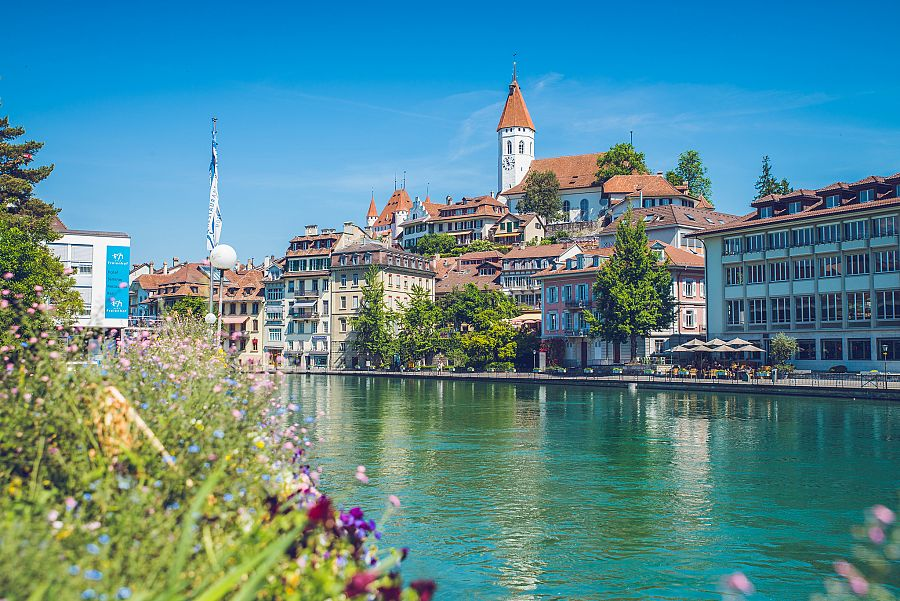 Švýcarsko Thun 2
