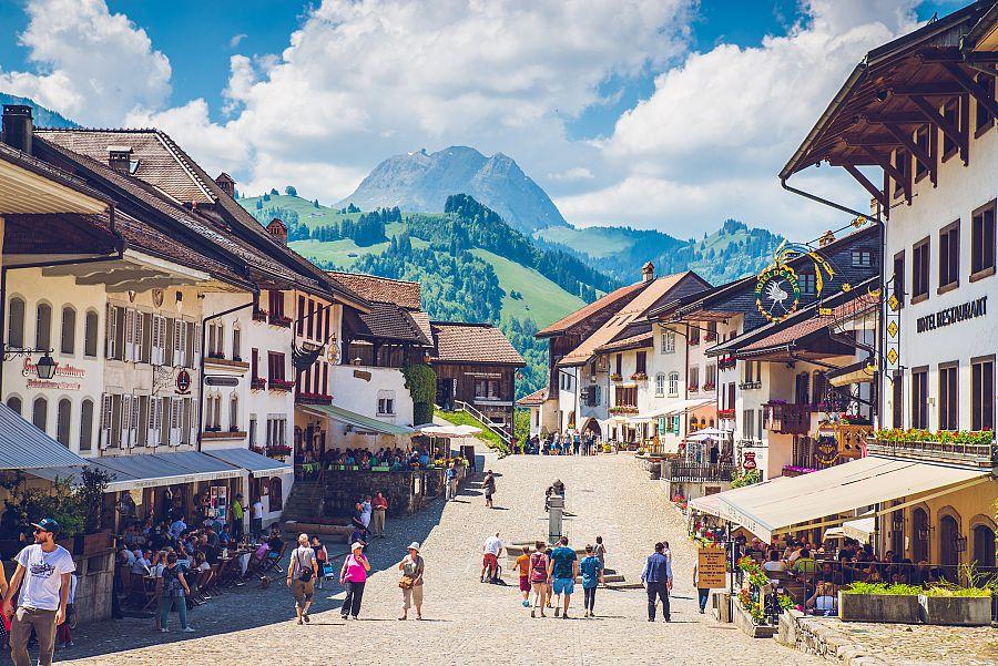Švýcarsko Gruyeres