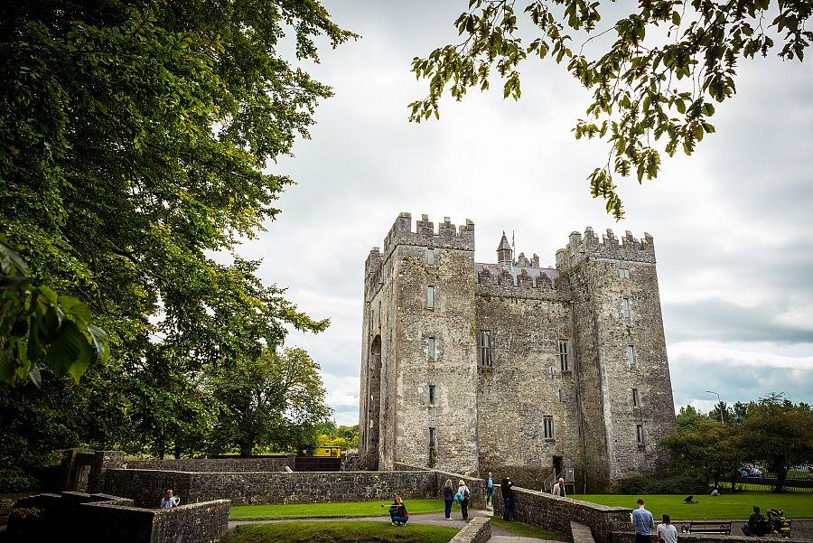 Dublin středověký hrad
