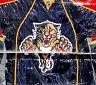 Znak Florida Panthers na ledové ploše