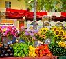 Typické trhy v Aix-en-Provence